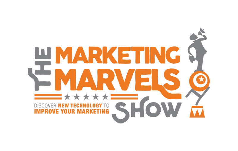 Marketing Marvels Podcast logo design, Convince and Convert