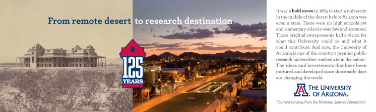 University of Arizona Advertising Design
