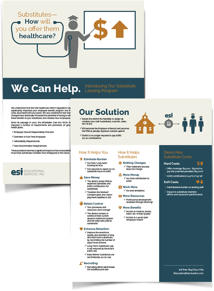 Educational Services print design Arizona