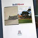University of Arizona Bold Moves brochure design
